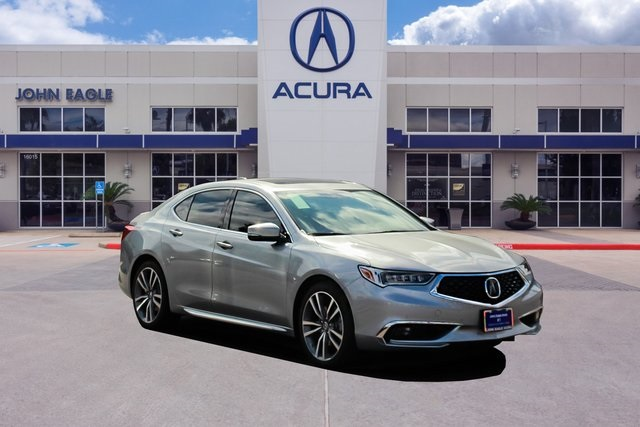 Certified Pre-Owned 2019 Acura TLX 3.5 V-6 9-AT P-AWS with Advance Package