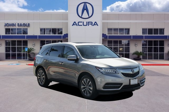 Certified Pre-Owned 2016 Acura MDX with Tech., Ent. and AcuraWatch Plus Packages