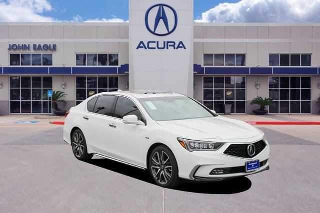 New 2020 Acura Rlx Sport Hybrid Sh Awd With Advance Package With Navigation